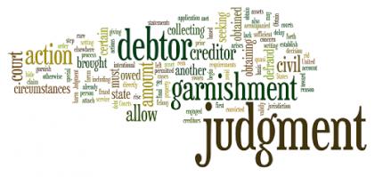 legal answers student loan default judgment garnishment